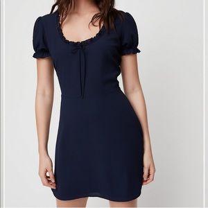 Sunday Best Aritzia Pure Indigo Cher Dress- Size 6